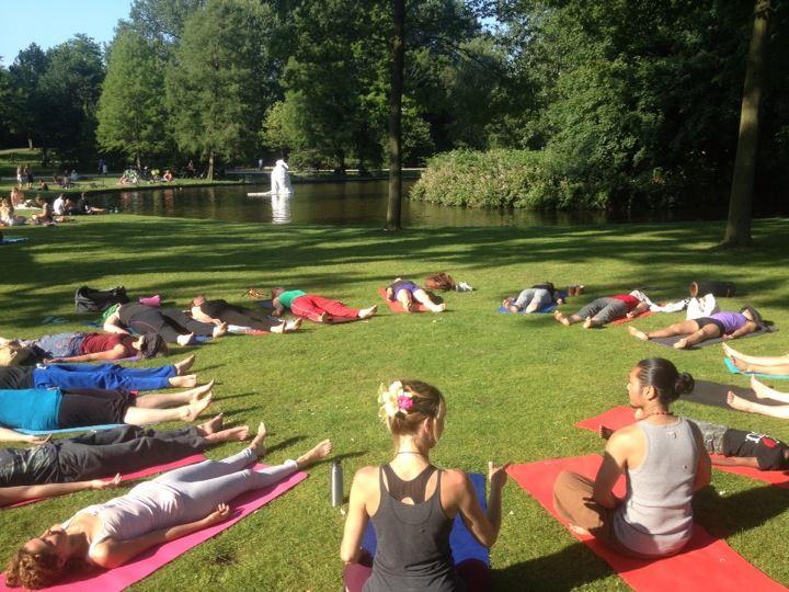 Afke Yoga Westerpark Natural Yoga